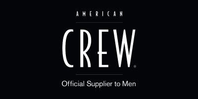 KAPPERS DE CLERCQ PRODUCTEN AMERICAN CREW LOGO